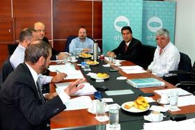 Sabbatella presidió ayer la reunión de la Afsca en la que se trató el tema Hadad-López