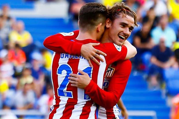 Atlético Madrid sigue sólido en la tercera posición