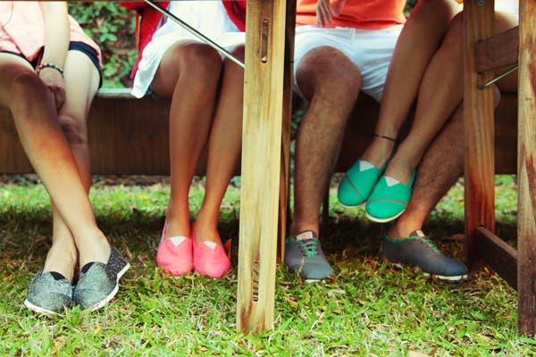 El boom de las alpargatas trendy comenzó en Estados Unidos y acá fue emulado por marcas como Paez, Guanaco, Rueda y Qa. Foto Gentileza Paez