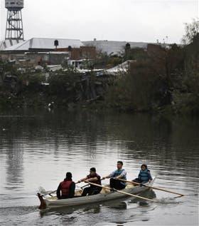 Ayer, los jóvenes deportistas desafiaron incluso el mal tiempo
