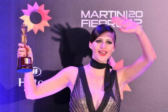 Mónica Antonópulos, la mejor actriz de reparto por su papel en El elegido. Foto: DyN