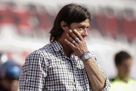 El clásico con Independiente, el último del Pelado