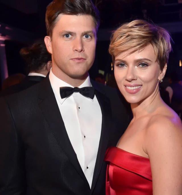 Scarlett Johansson y su nuevo novio, Colin Jost