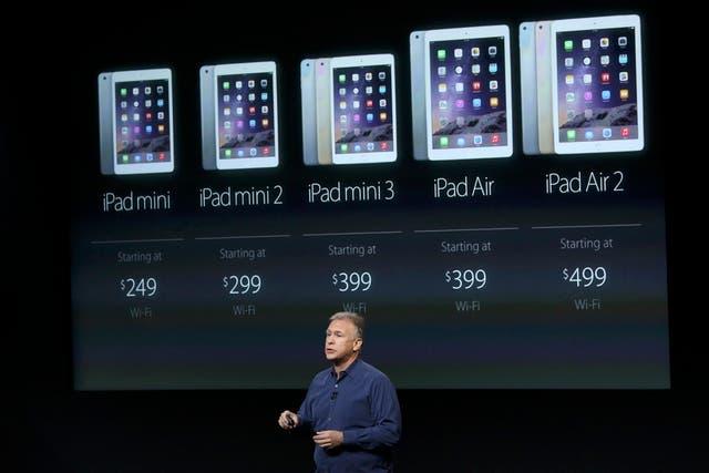 Los nuevos precios (en Estados Unidos) de la línea de tabletas de Apple