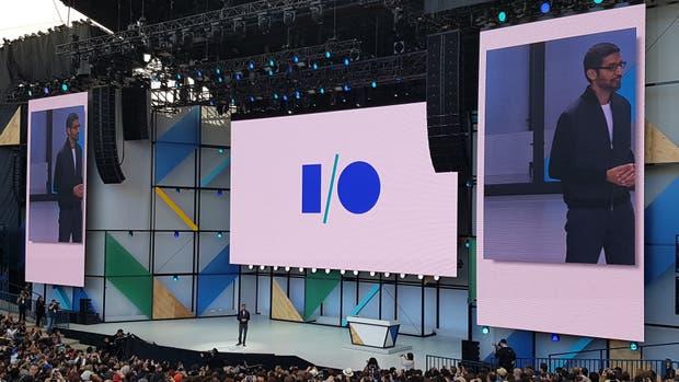 Sundar Pichai, CEO de Google, durante la presentación