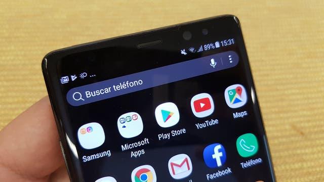 El Note8 es similar en diseño al Galaxy S8, pero con las esquinas menos redondeadas