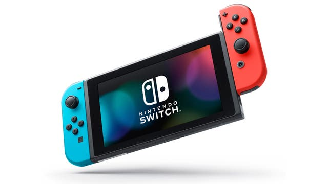 Una consola Nintendo Switch