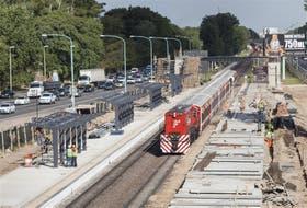 Sin que el servicio diario se vea afectado, avanza la construcción de la estación Ciudad Universitaria