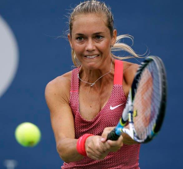 Una pena: la checa Klara Zakopalova perdió por un doble 6-3 y se vuelve a casa. Foto: Fotos de EFE, AP, AFP y Reuters