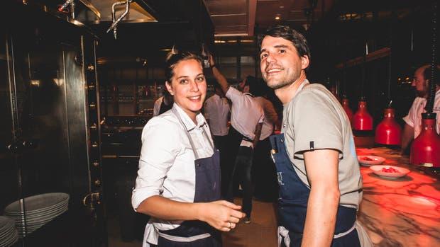 Pía León y Virgilio Martínez. Foto: gentlieza AMEX