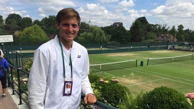 Wimbledon: el junior argentino Axel Geller avanzó a cuartos de final