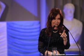 Cristina, criticada por el diario español Abc