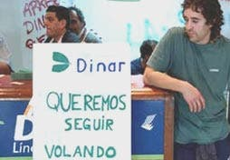 Dinar dejó de volar en 2002