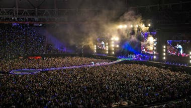 Coldplay con A Head Full of Dreams, en el Estadio Único de La Plata