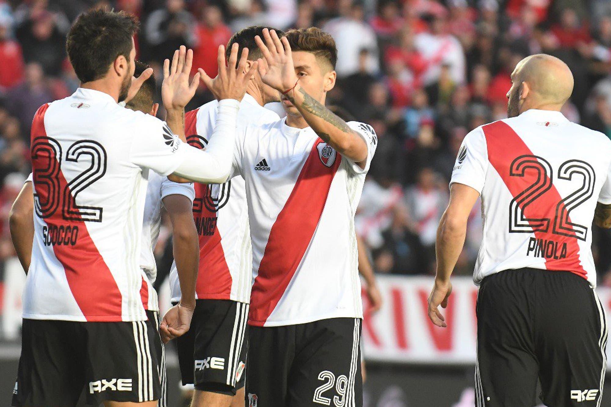 River, con la mentalidad que pretende Gallardo: no quiere tener nada que envidiarle al poder de gol que suma Boca