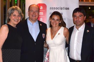 En Argentina con Gloria Marra (Directiva AMA), María Eugenia Rubinelli (Presidente y fundadora AMA) y Michele Rubinelli (Vice Presidente y Fundador AMA)