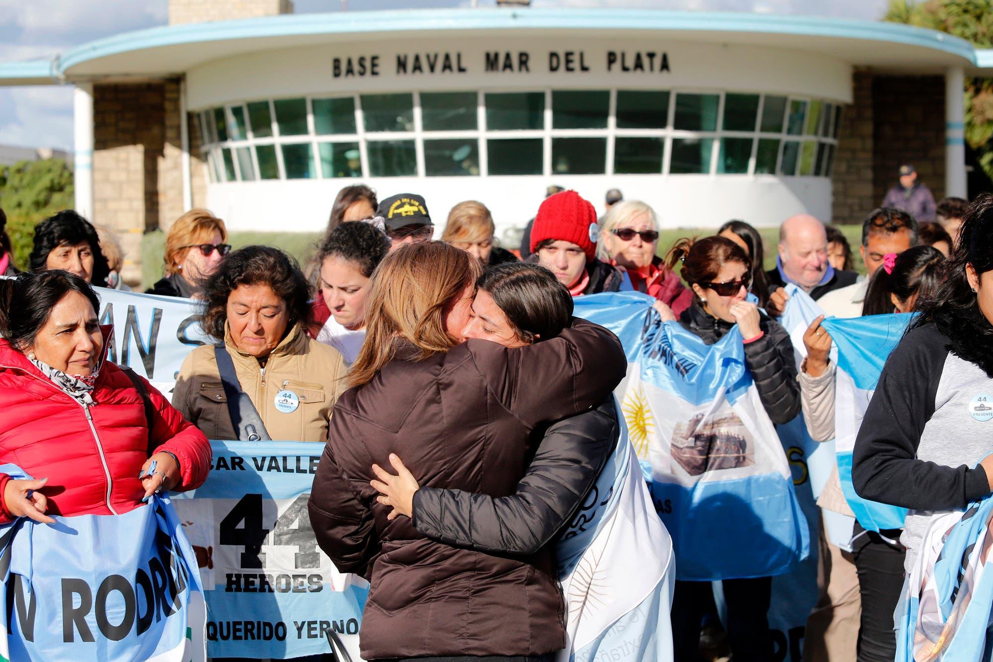 """ARA San Juan: """"Un 15 nos los quitó y un 15 nos los trajo de vuelta"""", el mensaje de los familiares"""