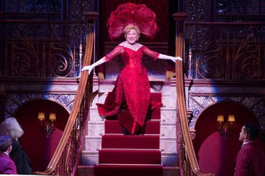Bette Midler, en la última versión de Hello Dolly!, en Broadway
