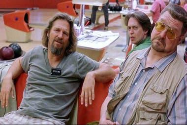 Dude, Walter y Donny (Steve Buscemi), un personaje ínfimo, pero de gran peso.