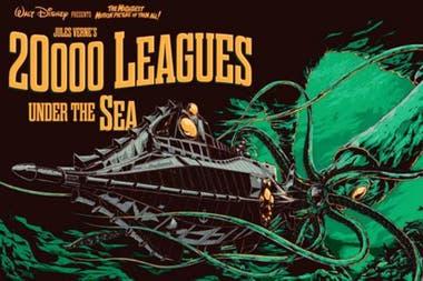 """""""Veinte mil leguas de viaje submarino"""" es una de las novelas más conocidas de Julio Verne"""