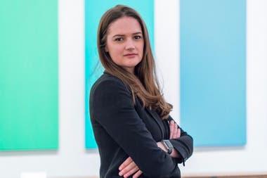 Katharine Wright, curadora de la muestra que abre el próximo sábado, en Proa