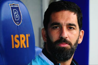 En su actual club, Basaksehir Estambul; su pase sigue perteneciendo a Barcelona