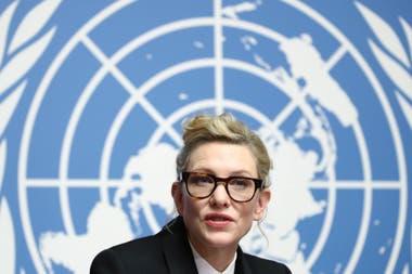 2019. Esta semana, en Ginebra, como embajadora de la ONU, lanzó una campaña para concientizar sobre el drama de los apátridas