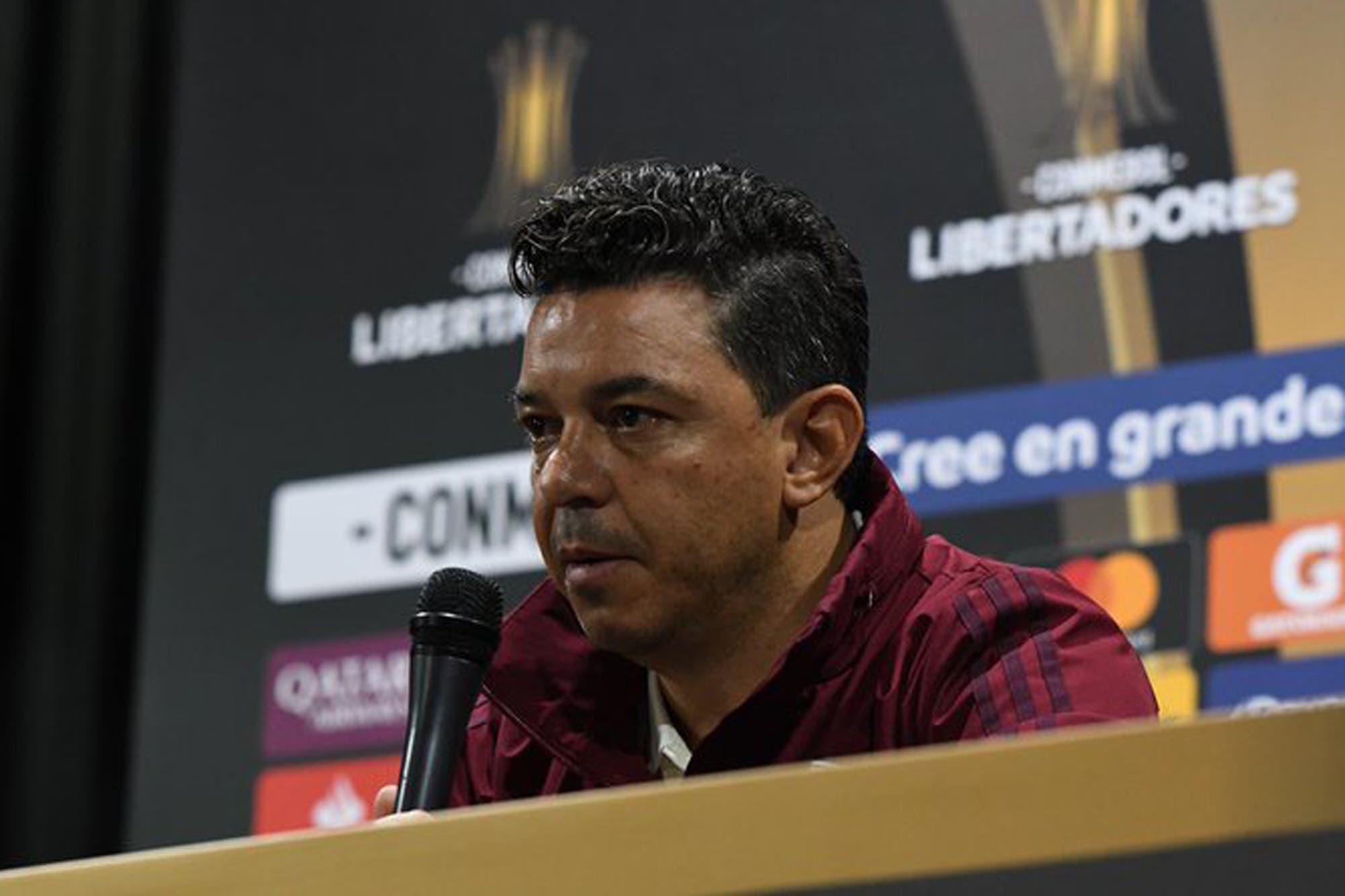 """Boca-River: Marcelo Gallardo confirmó la formación y habló sobre """"jugar con la desesperación"""" del rival"""