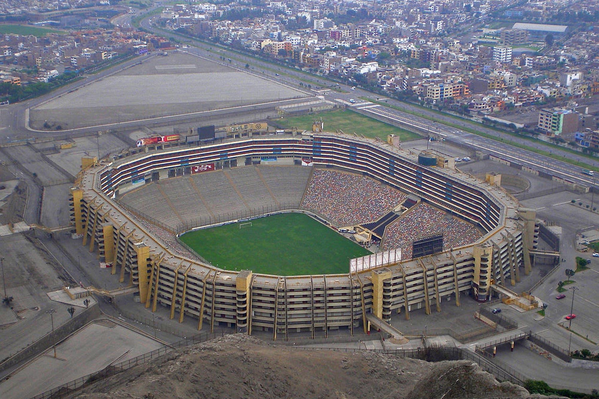 River-Flamengo: el Monumental de Lima, un elefante blanco entre los cerros para la final de la Copa Libertadores