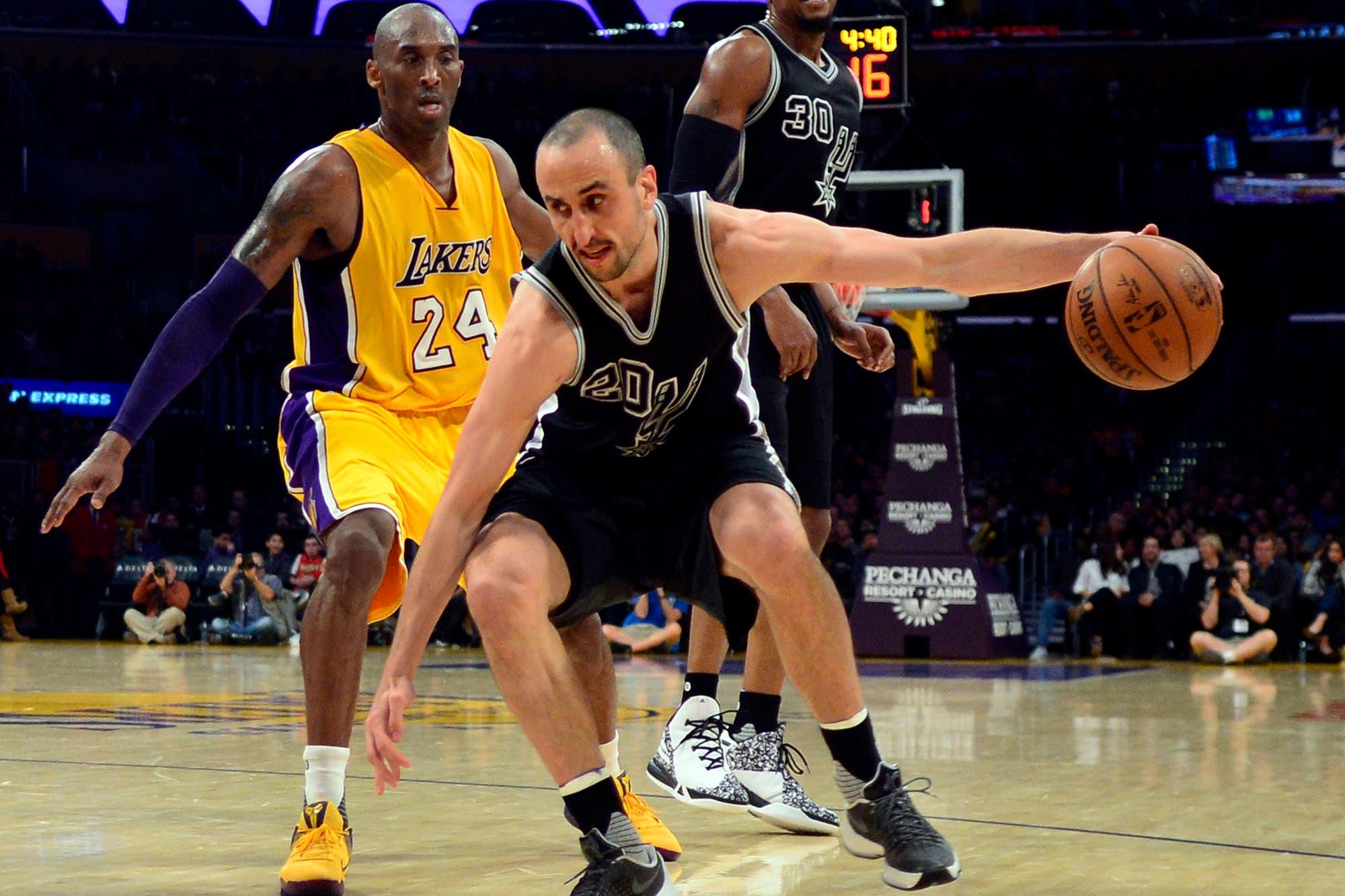 La reacción de Manu Ginóbili por la muerte de Kobe Bryant