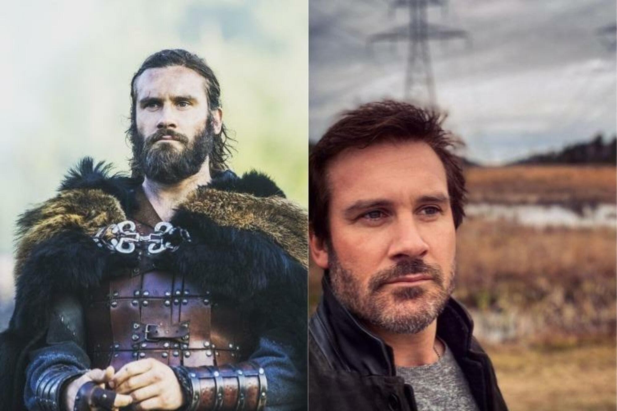 Así lucen los actores de Vikingos en la vida real