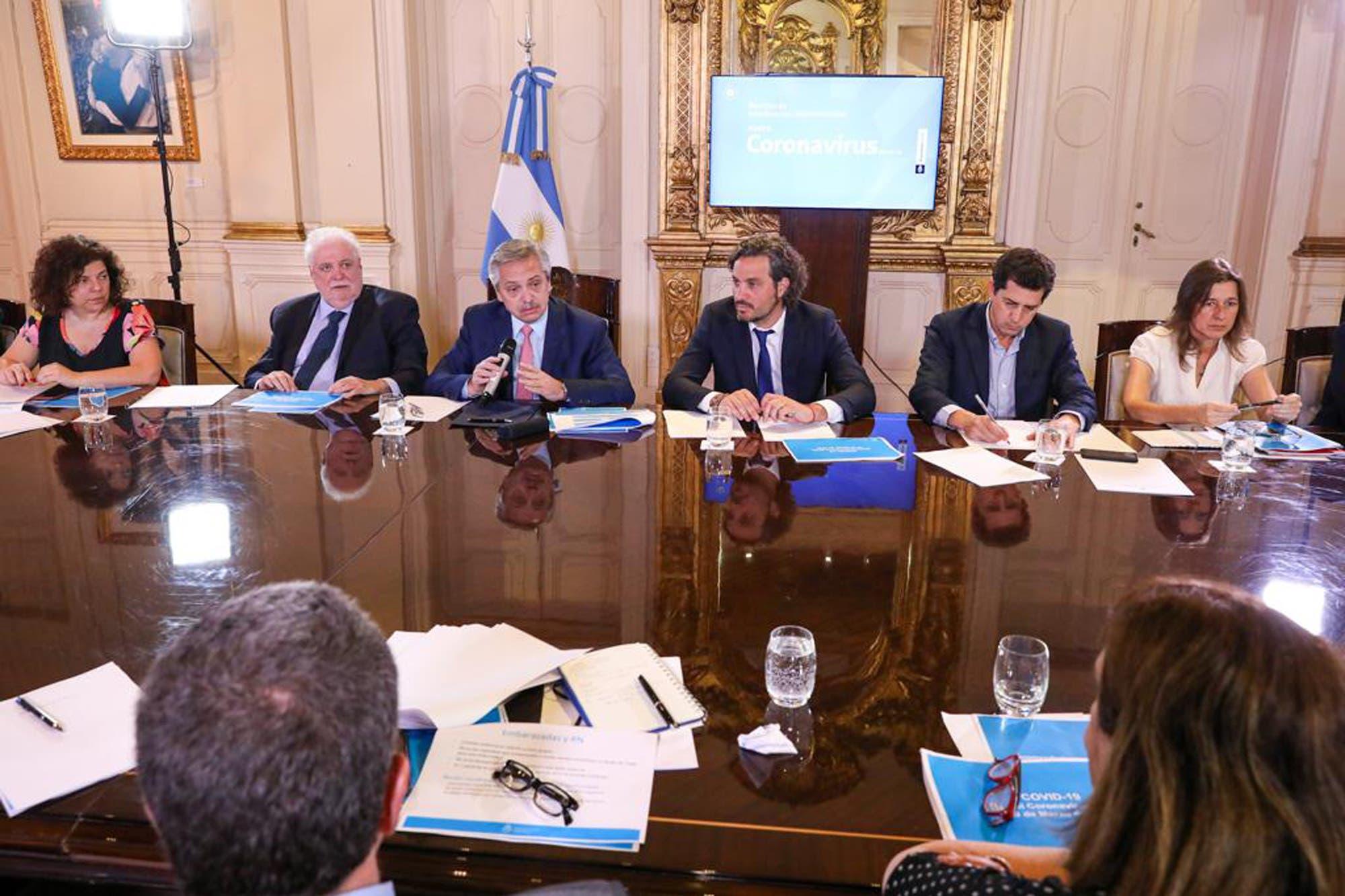 Coronavirus en la Argentina: Alberto Fernández habla por cadena nacional