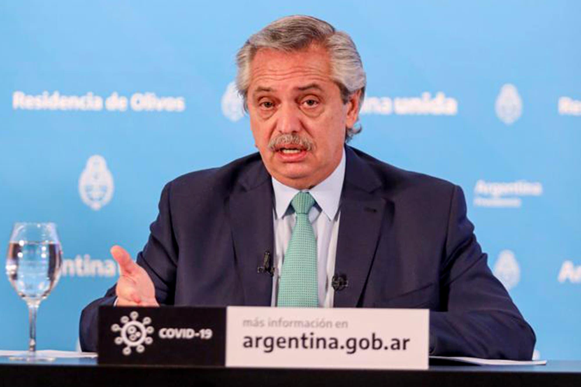 Coronavirus en la Argentina: a qué hora habla Alberto Fernández para anunciar la extensión de la cuarentena