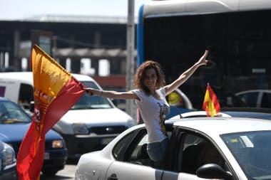 Las marchas se replicaron en Barcelona, Sevilla y otras capitales de provincia españolas