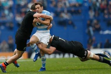 Doble tackle para Nico Sánchez