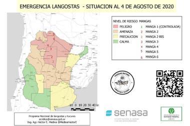 Según el Senasa, hay dos equipos locales trabajando en Santiago del Estero