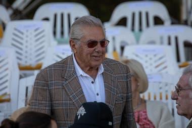 Francisco Dorignac, presidente del Tortugas y tres veces campeón del Abierto de Palermo de polo con Santa Ana