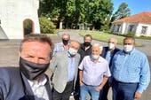 Almuerzo, fondos y Moyano: Alberto Fernández recibió a la CGT en Olivos