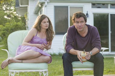 Ruth Wilson y Dominic West, ambos nominados