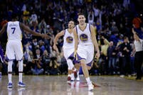Récord absoluto en la NBA: Klay Thompson hizo 37 puntos en un cuarto