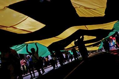 En los últimos días hubo manifestaciones de simpatizantes y opositores a Lula
