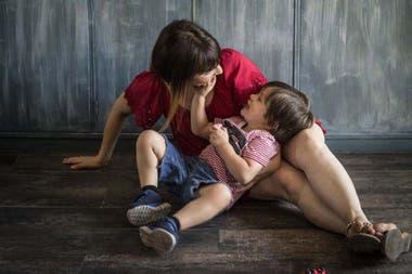 A la semana de aplicar la dieta, Pamela notó que su hijo, Manu, reconectaba.