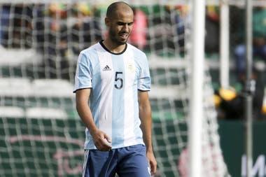 Guido Pizarro tiene posibilidades de entrar en la lista de 23 que irán al Mundial. Es un volante al que Sampaoli probó y luego dejó de lado