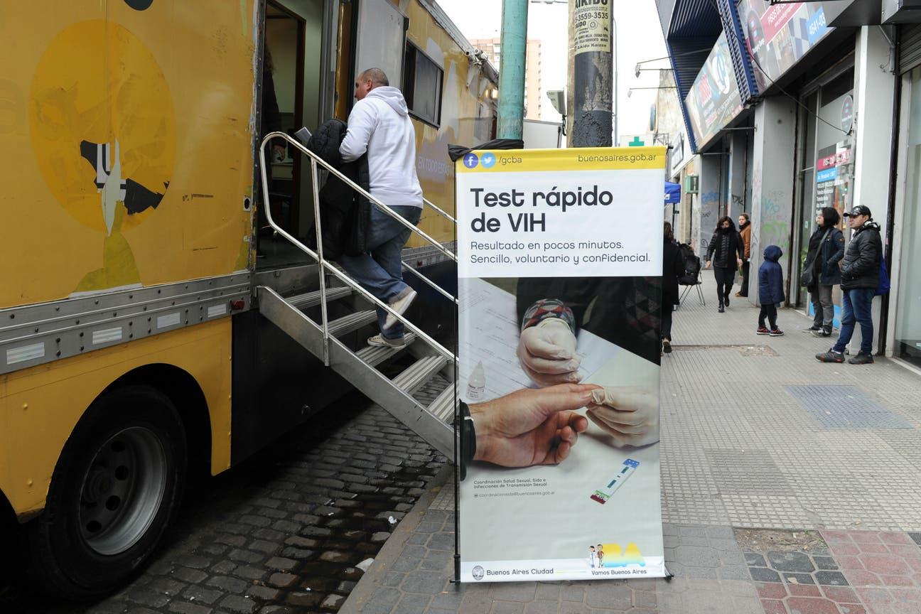 La estación móvil recorre espacios públicos de la Ciudad