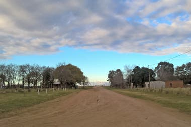Cura Malal es un pueblo de 100 habitantes a 15 km de Coronel Suárez