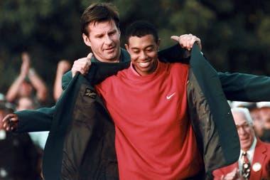 Woods campeón del Masters de Augusta de 1997