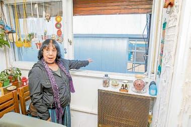 La nueva estacin Belgrano C tapa la vistaNo tengo intimidad tengo el tren dentro de mi casa dice Alba Carrizo