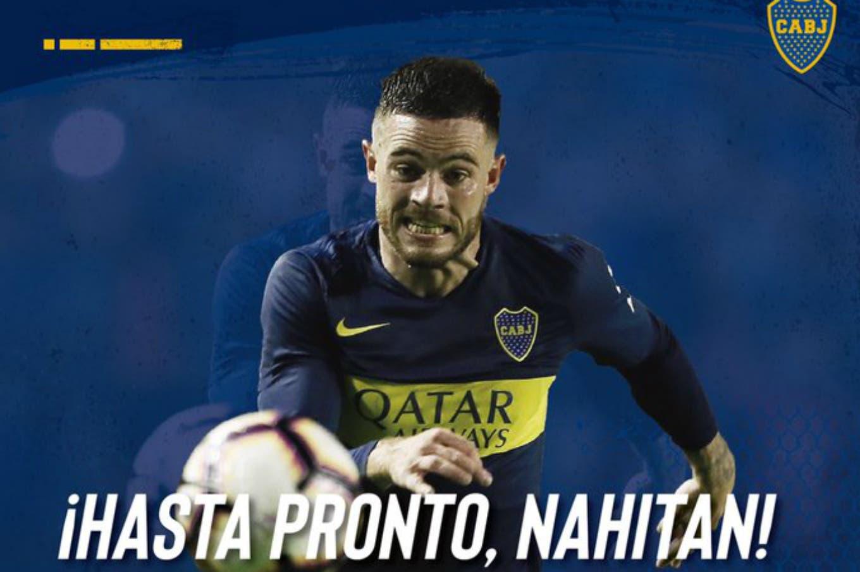La emotiva carta de Nandez para Boca y qué número de camiseta usará en Cagliari