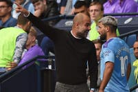 Manchester City-Tottenham, Premier League. La discusión de Sergio Agüero y Pep Guardiola: reproches y gritos al borde de la cancha y final feliz