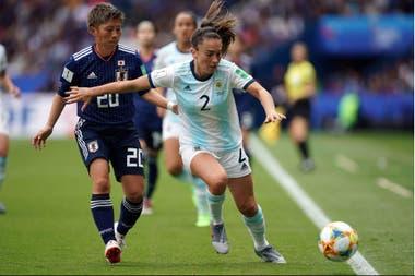 Un partido inolvidable para Agustina Barroso: fue una de las figuras en el histórico 0-0 ante Japón, en el Mundial de Francia